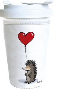 Coffee-to-go-Becher--Igel-mit-Herz
